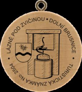 Turistická známka č. 2504 - Lázně pod Zvičinou